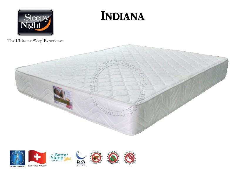 Sleepy Night Indiana Spring Mattress
