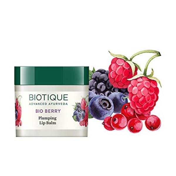 Buy Biotique Bio Berry Plumping Lip Balm, 12g Singapore