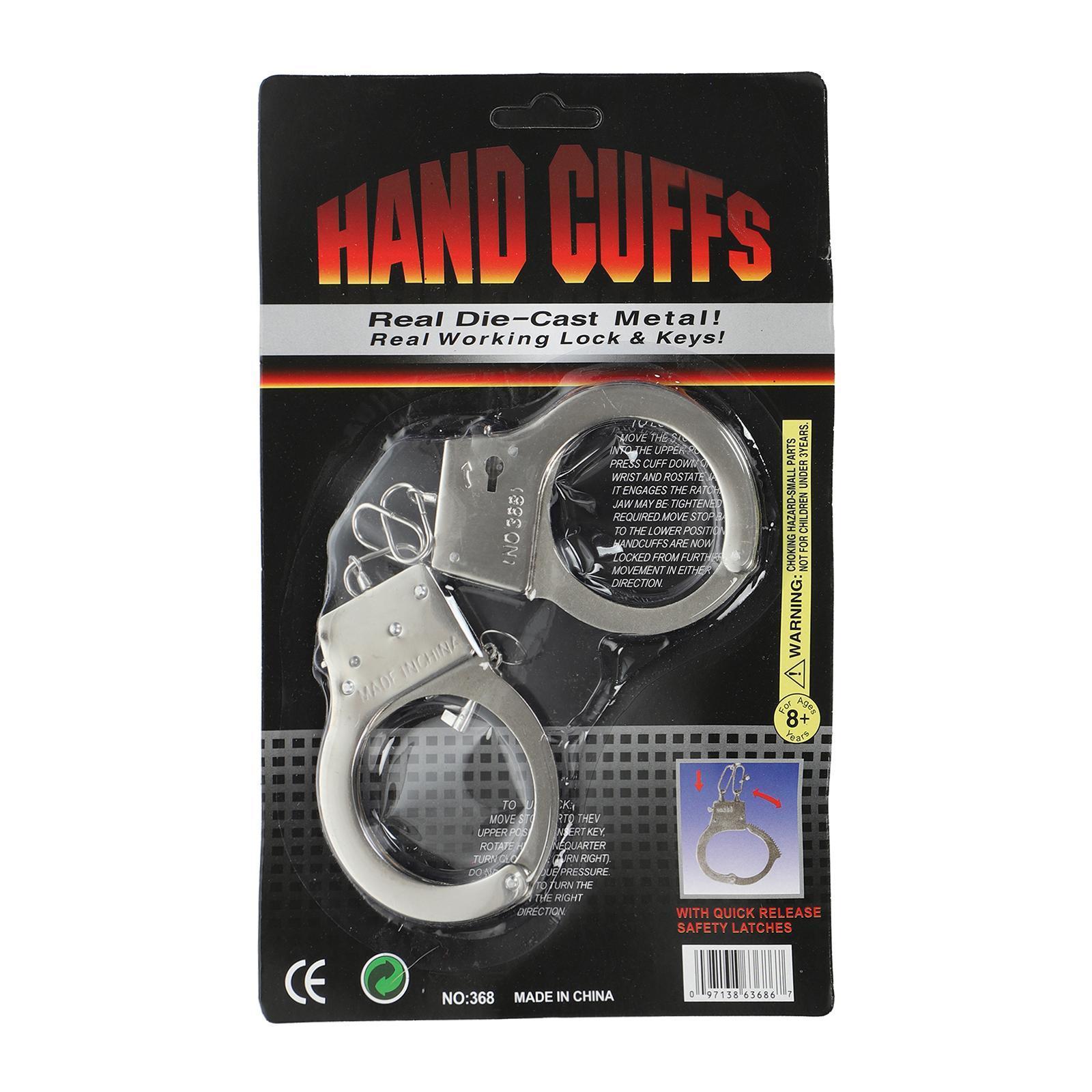 CGS Metal Hand Cuffs 368