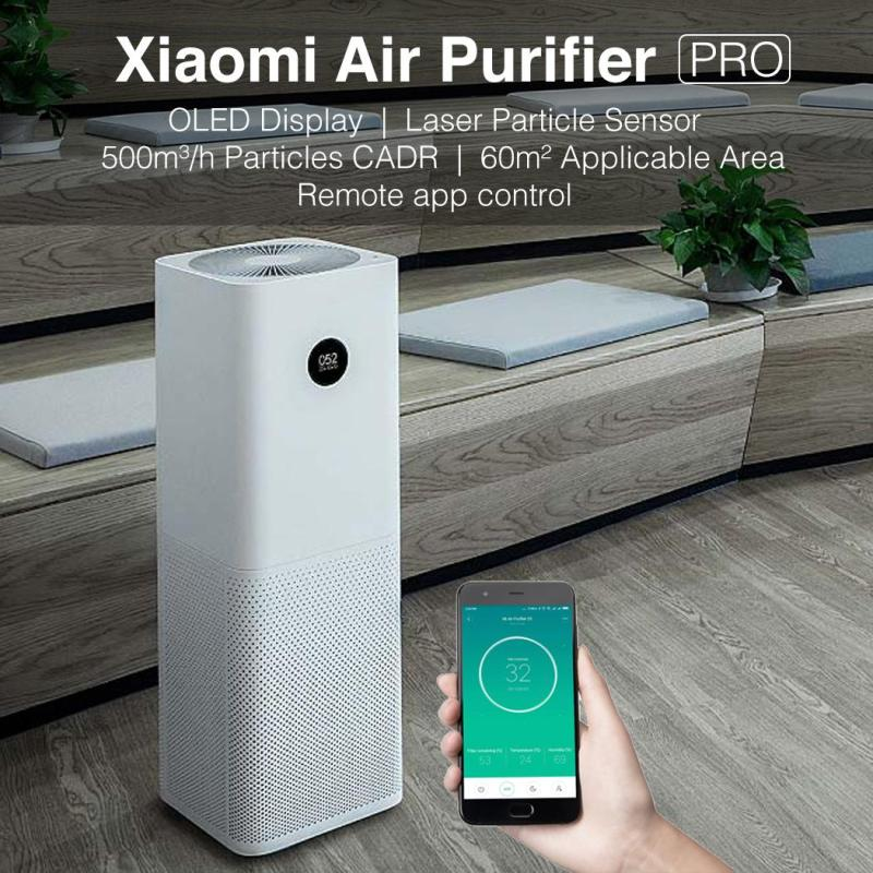 Xiaomi Air Purifier Pro  OLED Display  Local Delivery & Warranty  Safety Mark Approved Adaptor Provided Singapore