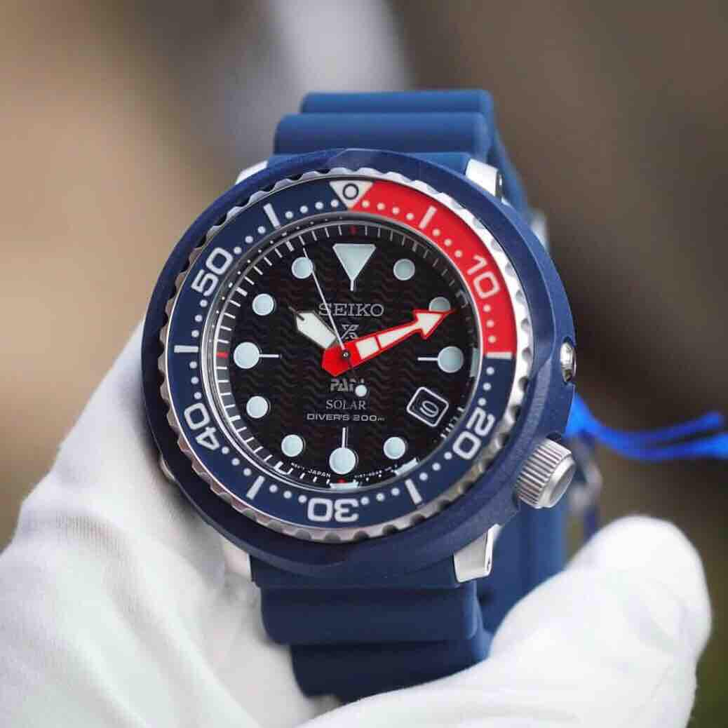 Seiko Prospex PADI Solar Men's SP Ecial Edition 200m Divers Watch SNE499P1 SNE499 SNE499P Man Watch