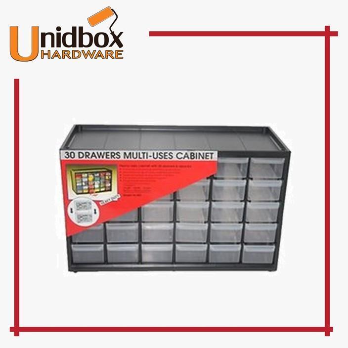 30 Drawers Multi-Uses Cabinet/Storage Box/Toolbox/Plastic/Small/Drawer