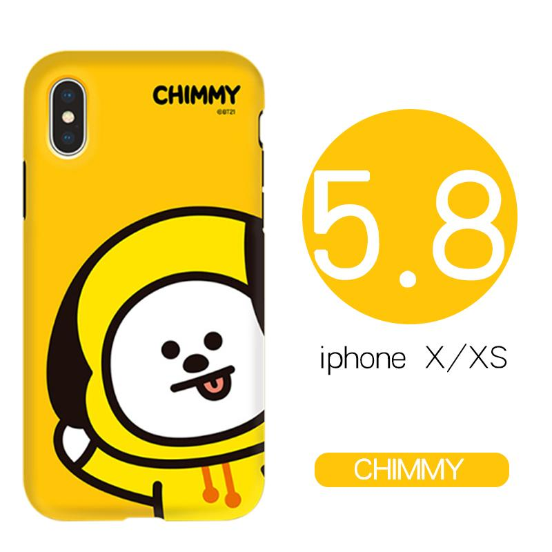 South Korea BT21 Bulletproof Boys iPhone x s max Phone Case iPhone X Silica Gel 8 plus Double Layer Protective Case