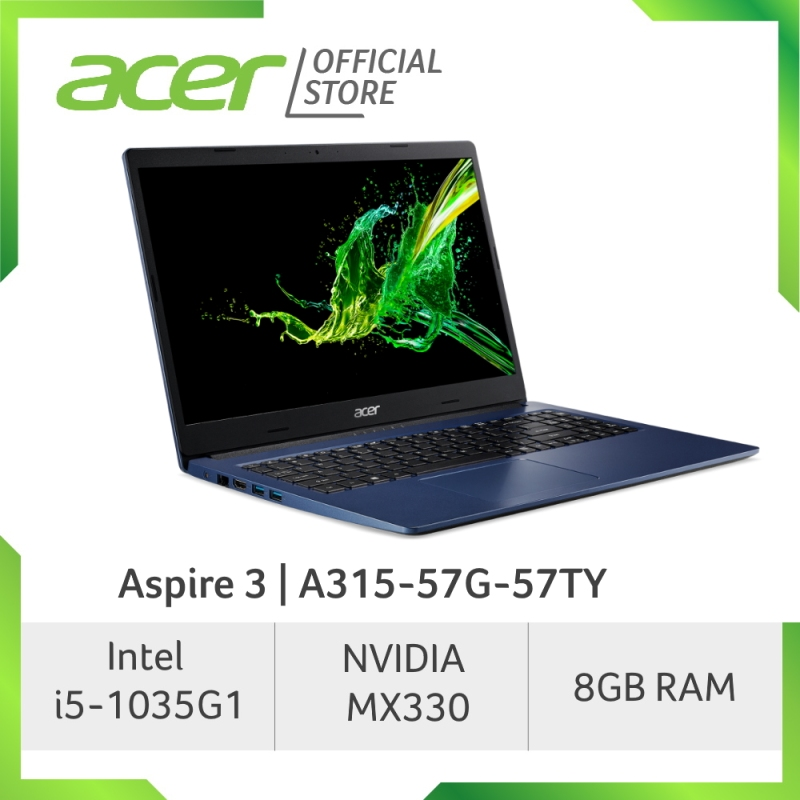 Acer Aspire 3 A315-57G-52RA/57TY Laptop with 10th Gen Intel Core processor and NVIDIA MX330 Graphic
