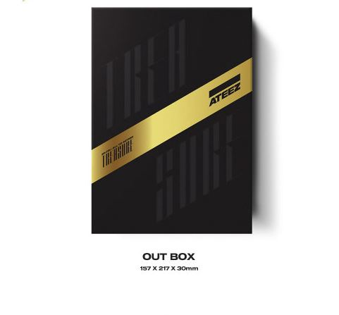 (A ver) ATEEZ 1ST FULL ALBUM - TREASURE EP.FIN  : All To Action [CD] + Folded Poster + Store Gift