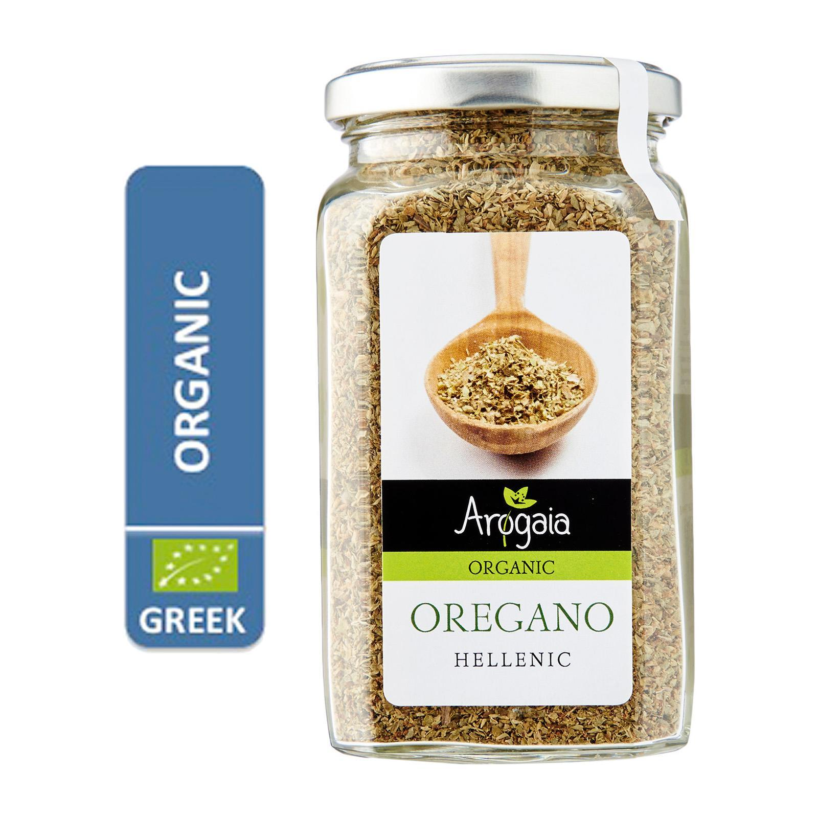 Arogaia Organic Greek Oregano In A Glass Jar - By Agora Products