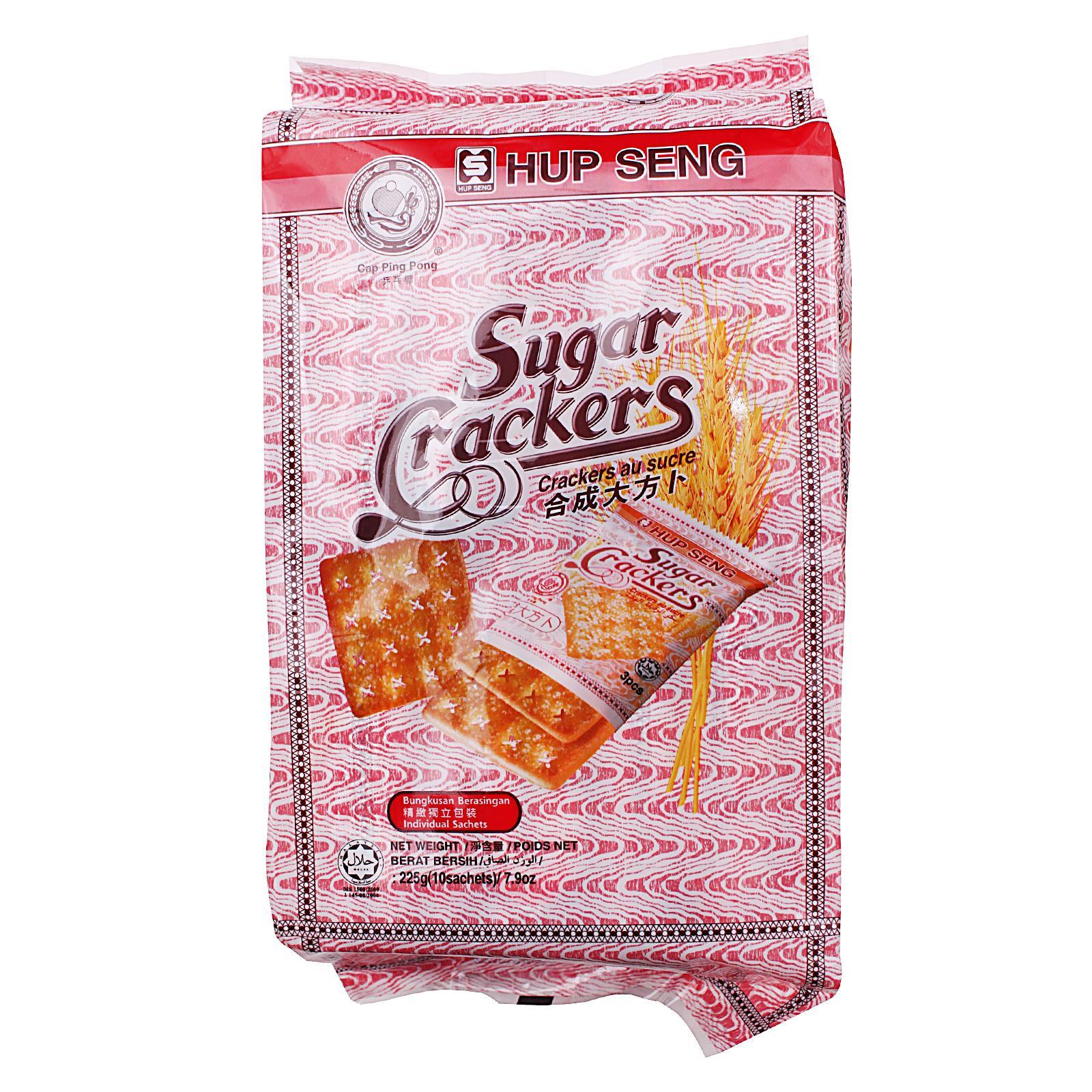 HUP SENG Sugar Crackers 10s