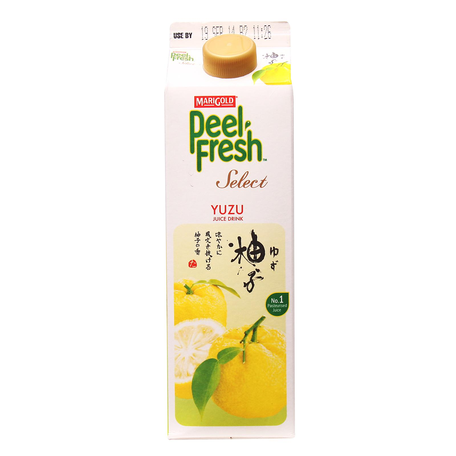 MARIGOLD Peel Fresh Select Juice Drink - Yuzu