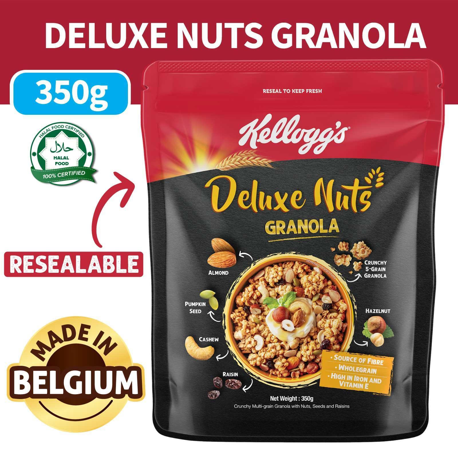 Kellogg's Granola - Deluxe Nuts
