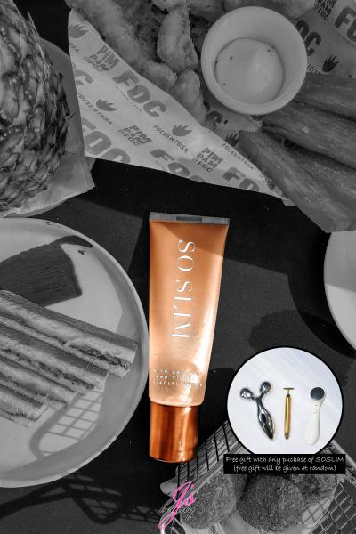 Buy SOSLIM Gold Flakes Cold Sensation Slimming Gel V2 Singapore