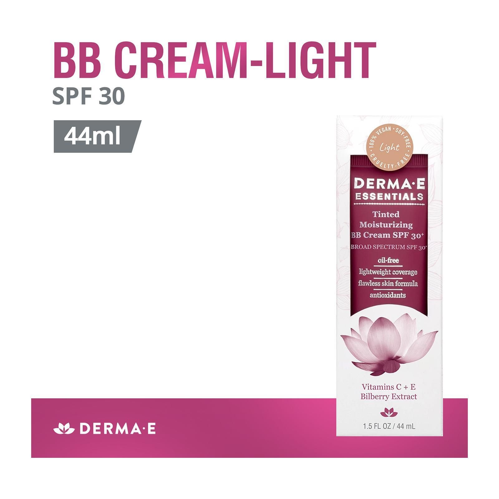Derma E Light-Tinted Moisturizing BB Cream SPF 30+