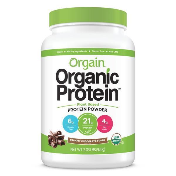 Buy Orgain Organic Protein Plant Based Powder (Chocolate Fudge) - 2.03lb (920g) Singapore