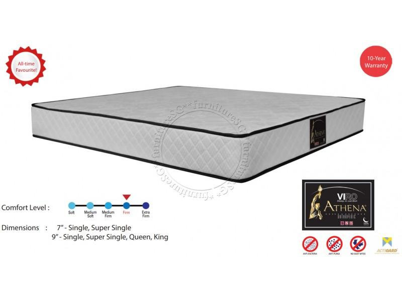 (FurnitureSG) 7 inch Athena Orthopedic Spring Mattress