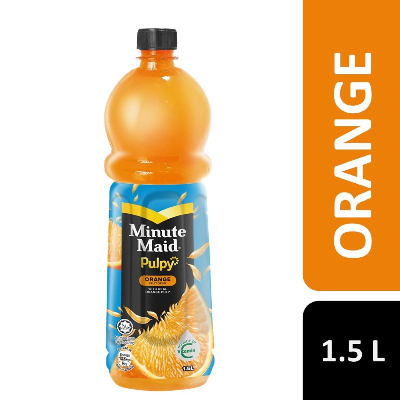 Minute Maid Pulpy Orange Juice