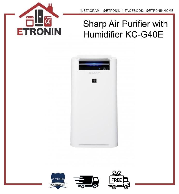 Sharp Air Purifier with Humidifier KC-G40E Singapore