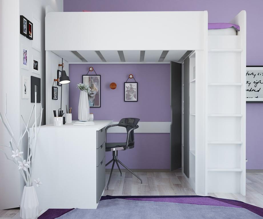 Simple High Loft bed