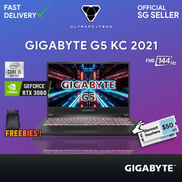 [Free Delivery] Gigabyte G5 KC-5S11130SH Gaming Laptop (i5-10500H/16GB/RTX 3060/15.6 144hz/2Y)