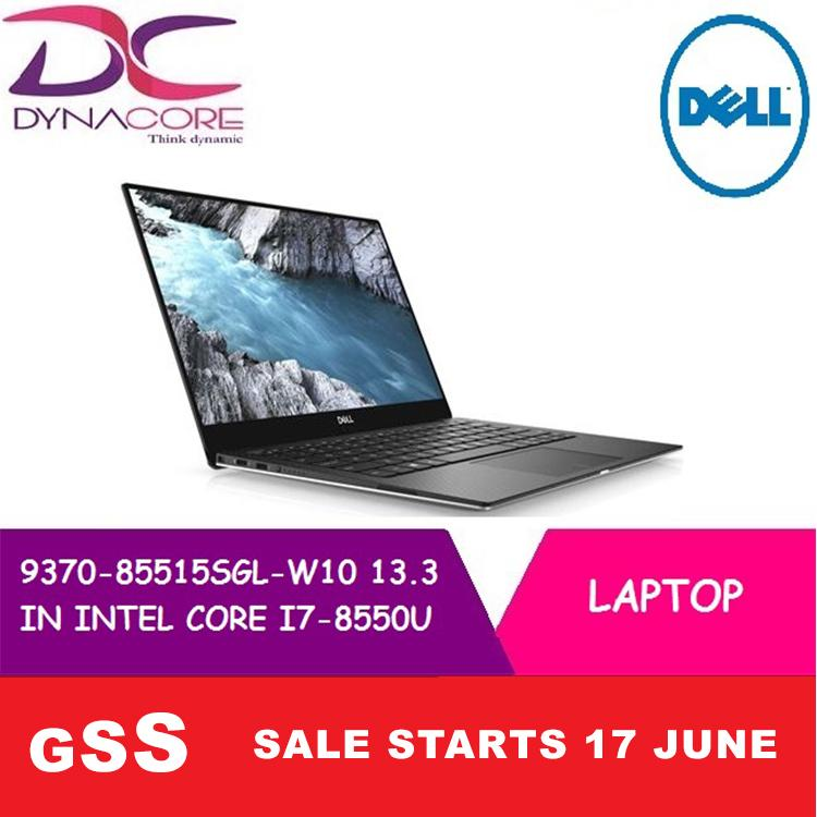 BRAND NEW DELL LAPTOP 9370 85515SGL W10 13.3 IN INTEL CORE I7-8550U 16GB 512GB SSD WIN 10 HOME