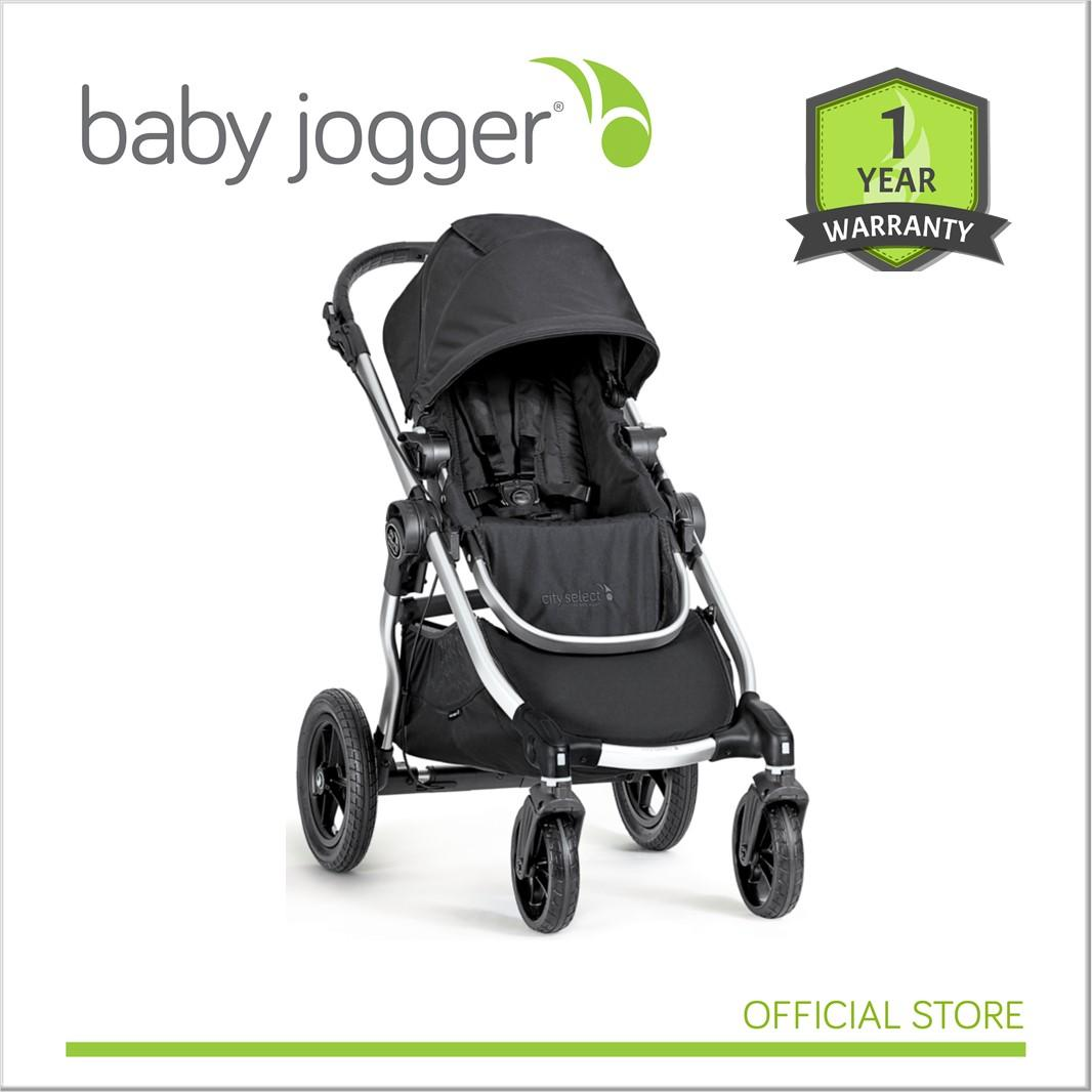 Baby Jogger City Select Onyx Ruby Charcoal Black Frame Singapore