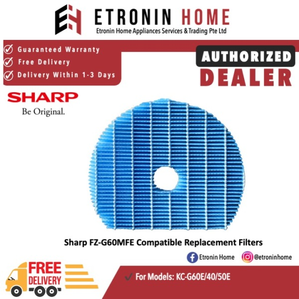 Sharp FZ-G60MFE Compatible Replacement Filter for KC-G60E Singapore