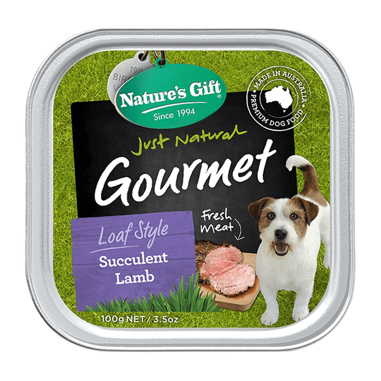 Nature's Gift Gourmet-Succulent Lamb (Loaf Style) 100G