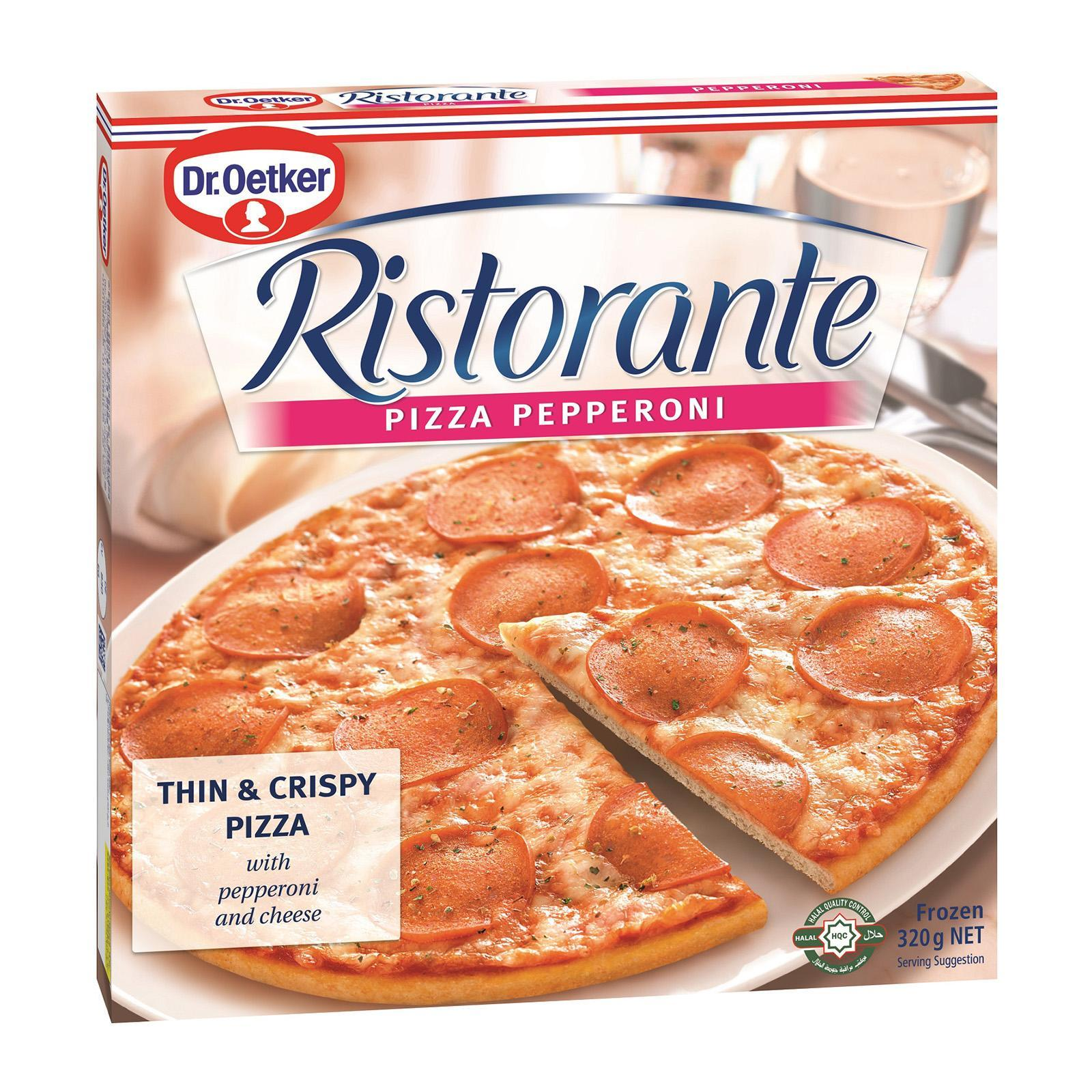 Dr Oetker Ristorante - Pepperoni - Frozen By Redmart.