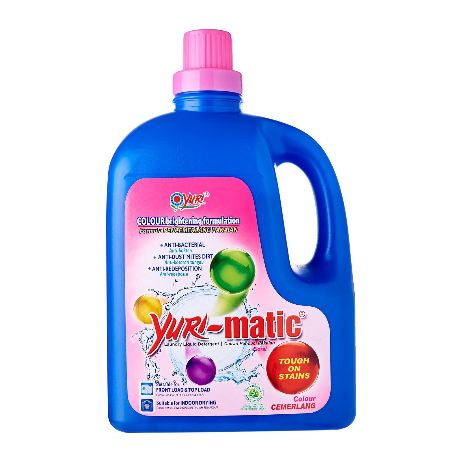 YURI MATIC Liquid Detergent Tough Stains Romantic Blue 2.8kg