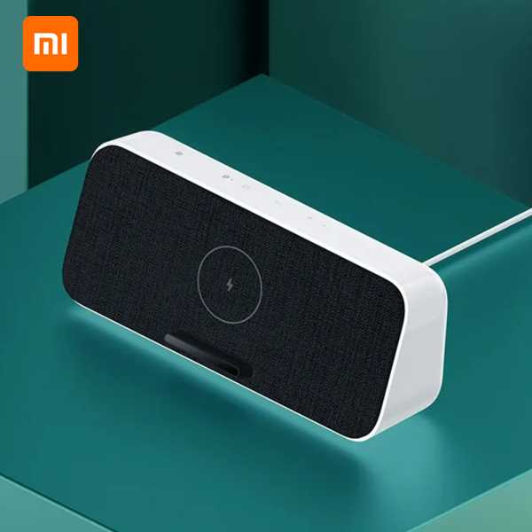 Xiaomi BT Speaker Fast Wireless Charger 30W MAX BT5.0 Home Music Speaker With Microphone HD Call For iPhone Samsung Singapore