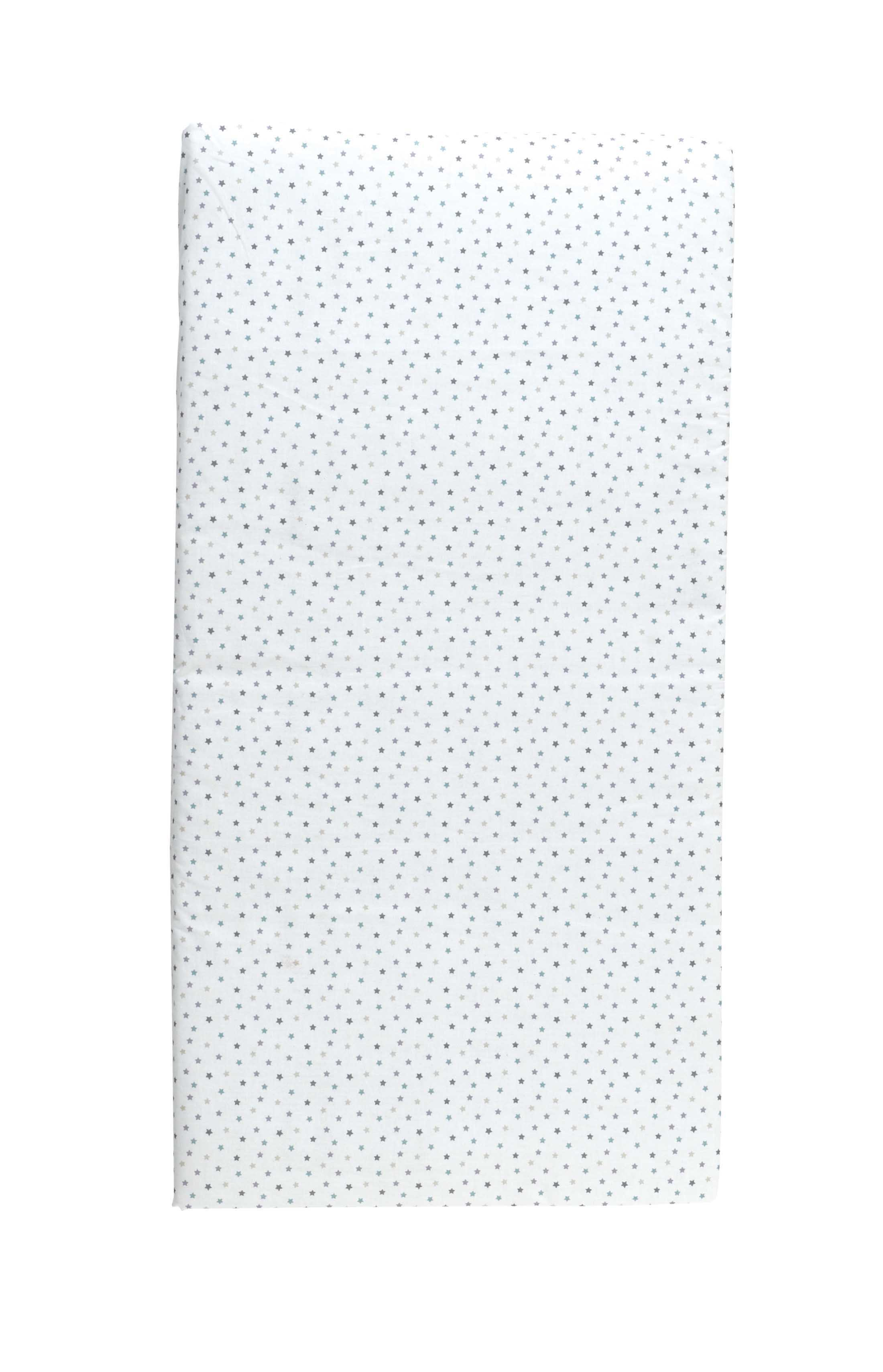 Baby travel mattress stars 60x120cm