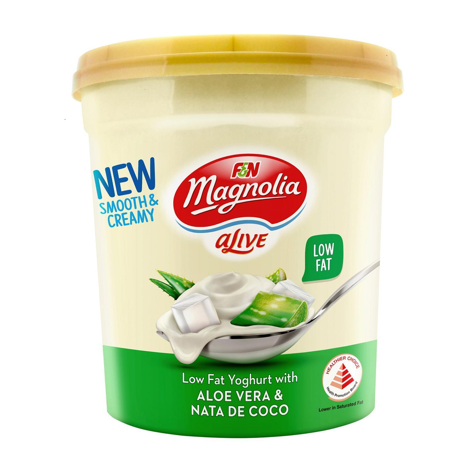 F&N Alive Balance Low Fat Yoghurt With Aloe Vera and Nata De Coco