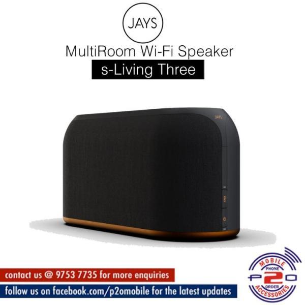 JAYS s-Living Three MultiRoom Wi-Fi SpeakerMultiRoom Wi-Fi Speaker Singapore