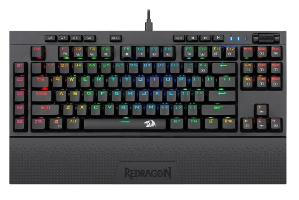 Redragon Broadsword K588 RGB Mechanical Gaming Keyboard (Blue Switch) Singapore