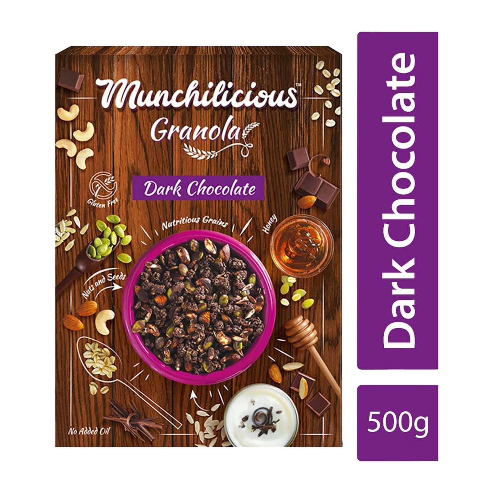 Munchilicious Granola Dark Chocolate