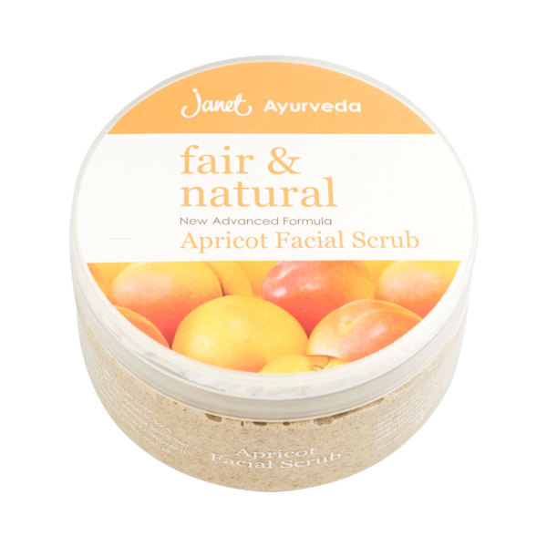 Buy JANET AYURVEDA FAIR & NATURAL APRICOT FACIAL SCRUB Singapore