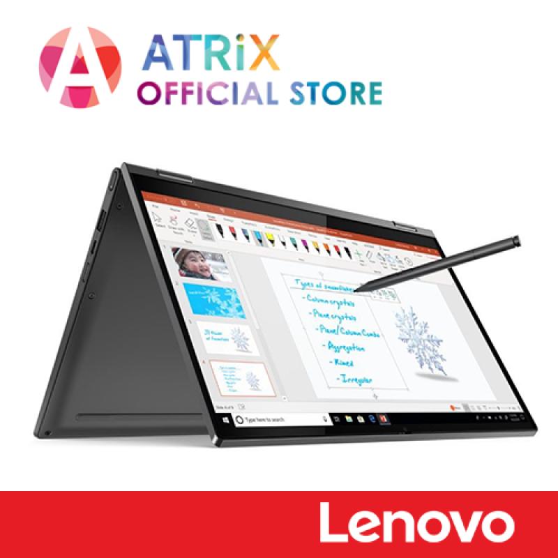 Lenovo Yoga C340-14IML(81TK007MSB) | 14.0 FHD Touch with Stylus | i5-10210U | 8GB DDR4 RAM | 1TB PCIeSSD | NVIDIA MX230 | 2Y Onsite Warranty | Ready Stock Ship Today