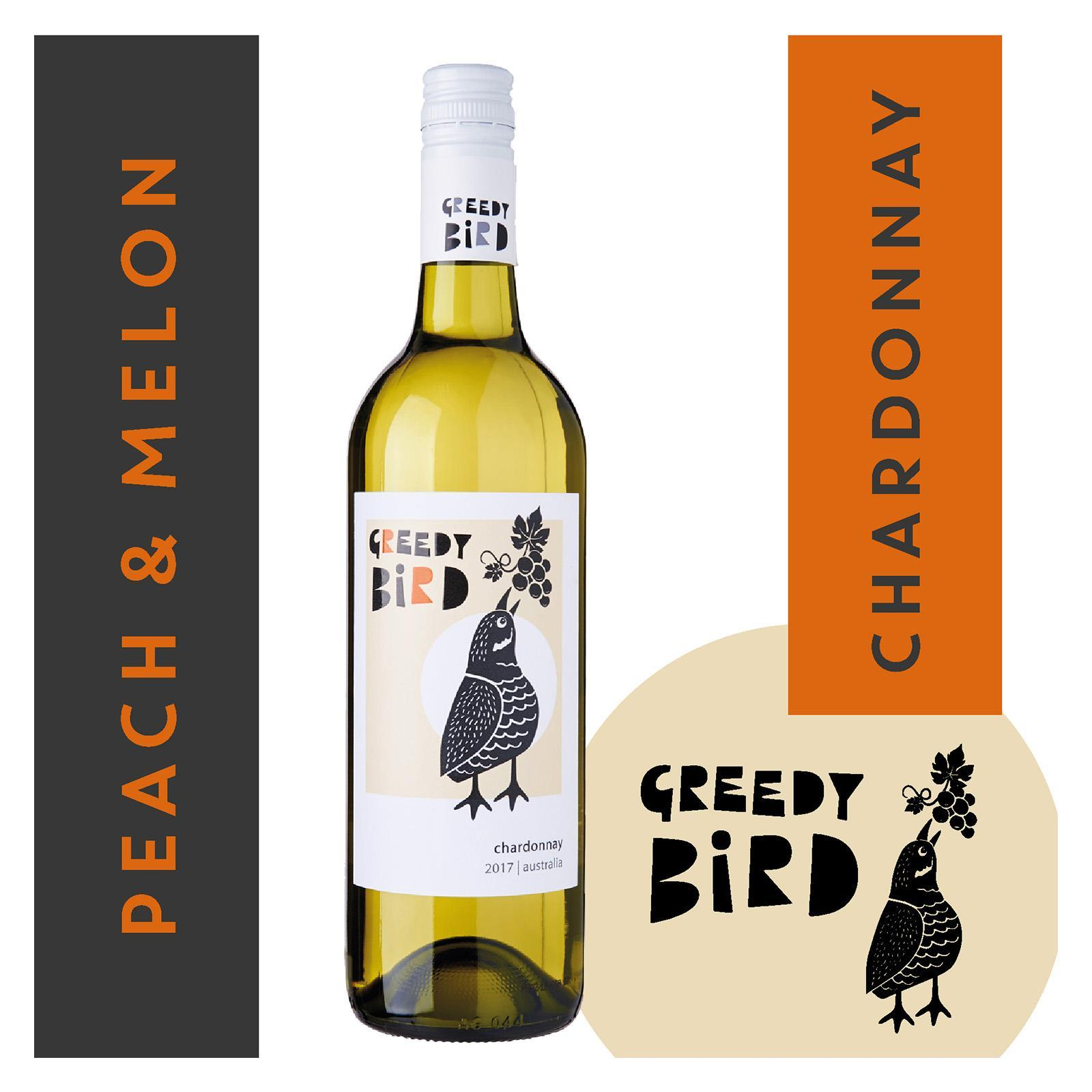 Greedy Bird South Australia Chardonnay White Wine