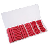 Sale 53 Pcs Heat Shrink Assortment Tubing Tube Kit Red Wire Wrap Boxedset 4Inch
