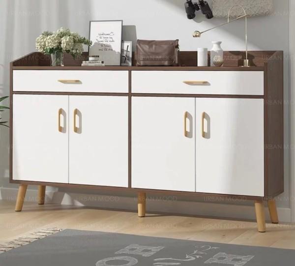 [PRE-ORDER] SHANIA Modern Shoe Cabinet / Sideboard