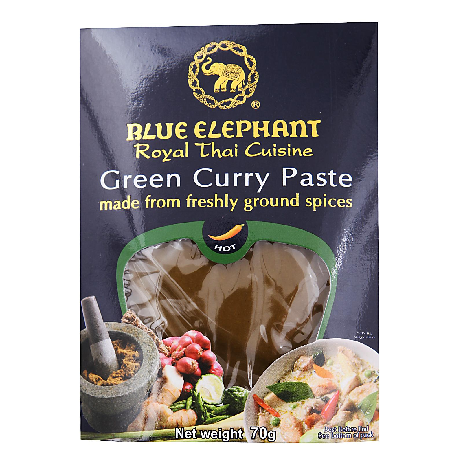 Blue Elephant Green Curry Paste By Redmart.