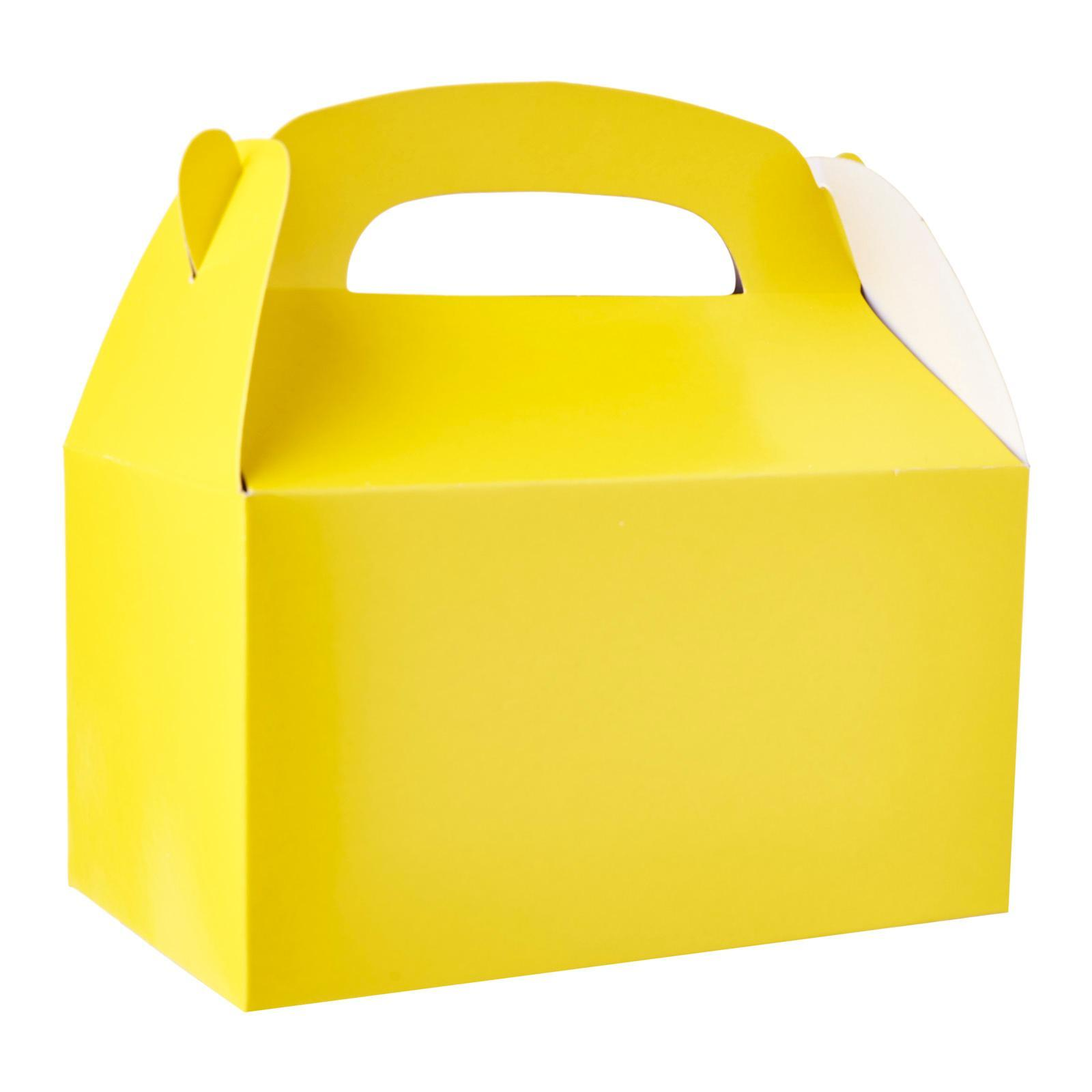 Fun Express Yellow Favor Boxes 6 Pack