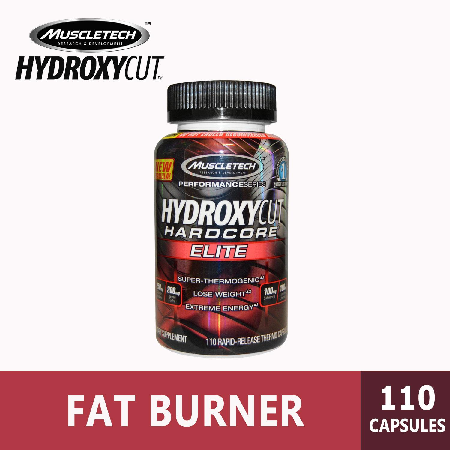 Hydroxycut Elite, Performance Series, Hardcore Fat Burner, 110 Rapid-Release Thermo Caps By Hna.