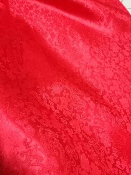 1.5 M Rộng Túi Lụa Đa Mát Chất Vải Cổ Trang Hán Phục Cos Ki-mô-nô Tang Sườn Xám Mặt Chăn Rồng Gấm Đa Mát Vải