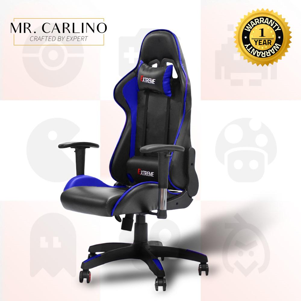 XENA EXTREME PU Leather Height Adjustable High Back Reclining Gaming Chair