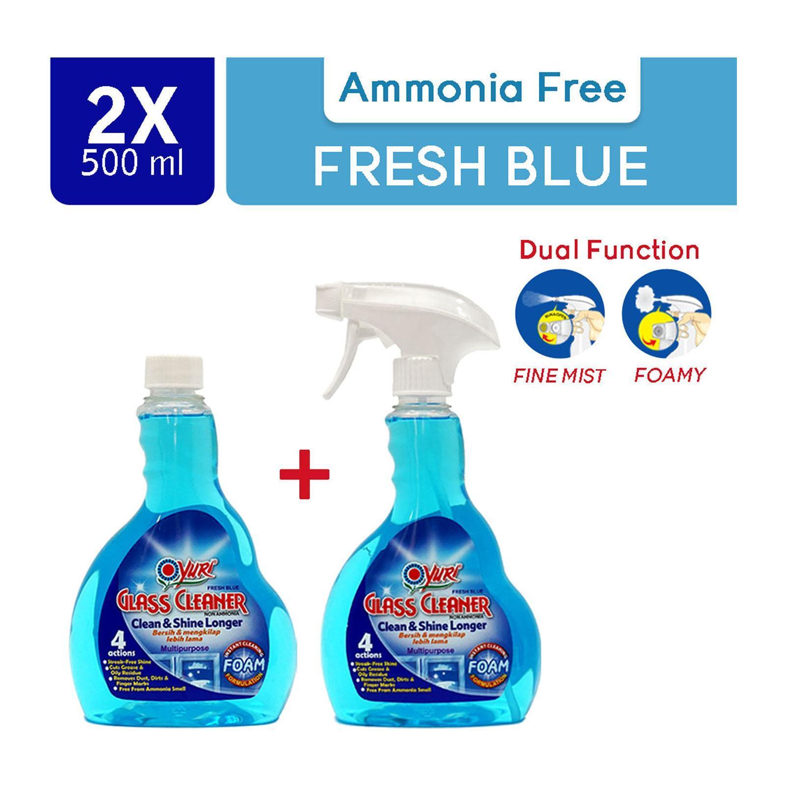 Yuri Glass Cleaner Fresh Blue. 1000 ml