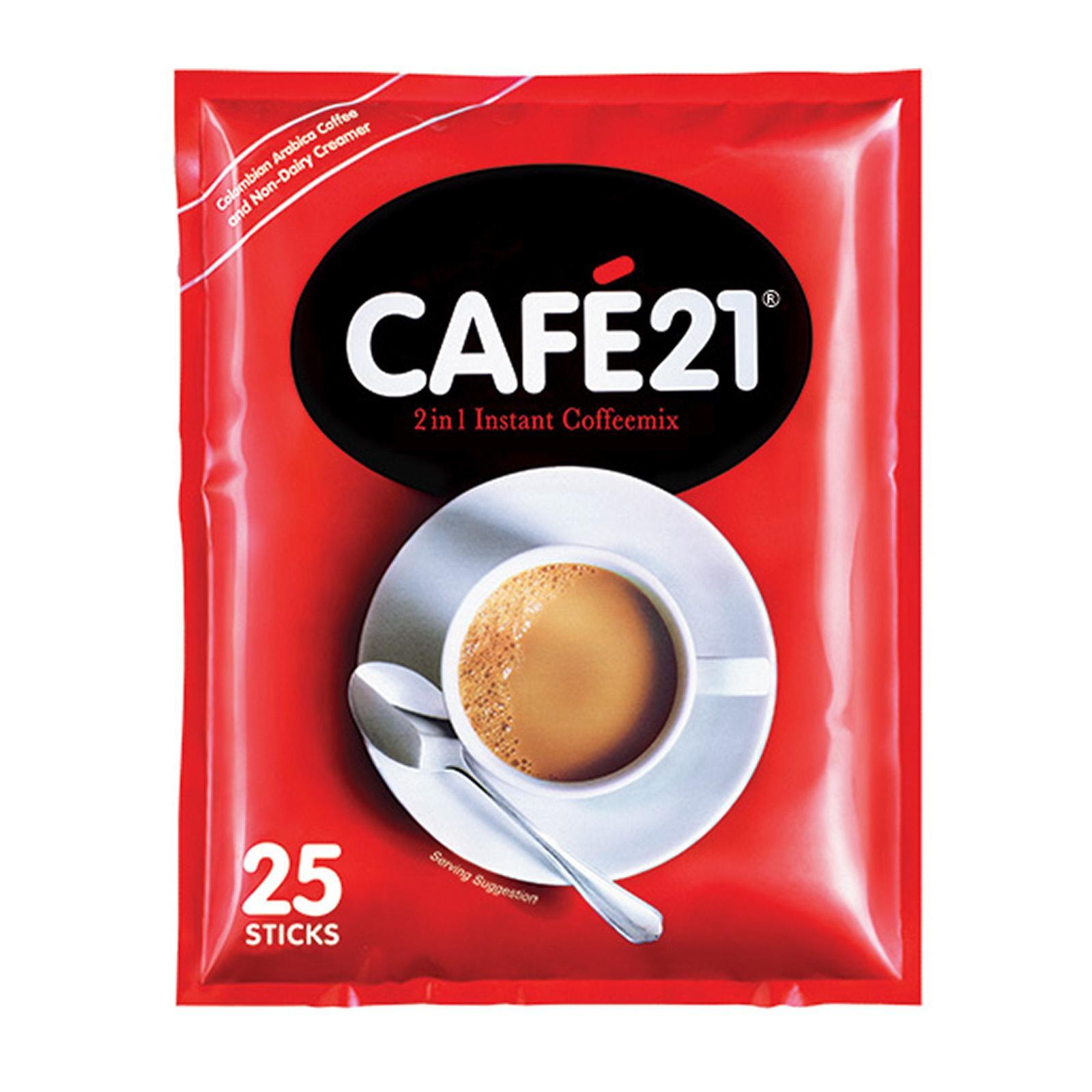 Cafe 21 2in1 Coffee Mix 25X12G