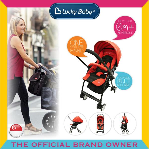 Lucky Baby® 516218 Flash™ Baby Stroller - Red Singapore