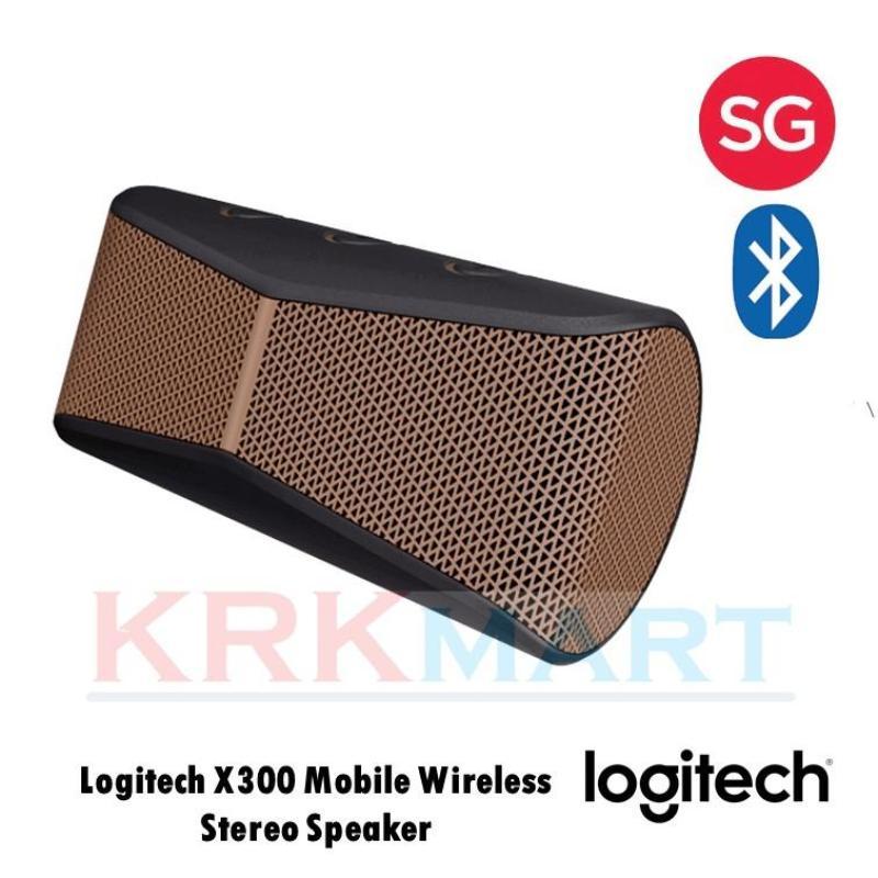 Logitech X300 Mobile Wireless Stereo Speaker Singapore