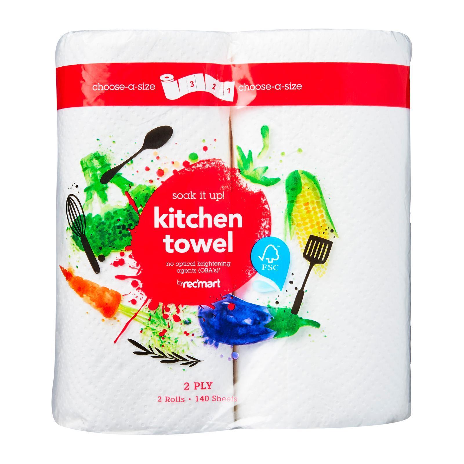 RedMart Kitchen Towel (Choose-A-Size)