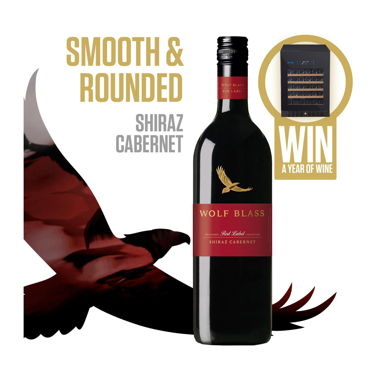 Wolf Blass Red Label Shiraz Cabernet Smooth Red Wine