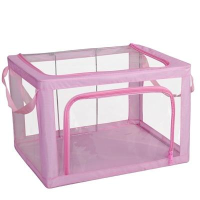 Transparent Multi-Zip Storage Box 22L (39 x 29 x 20cm)
